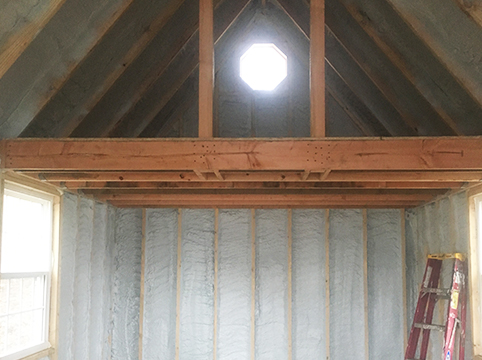 Attic Insulation from Zerodraft